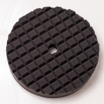 Black Waffle Foam Buffing Pad