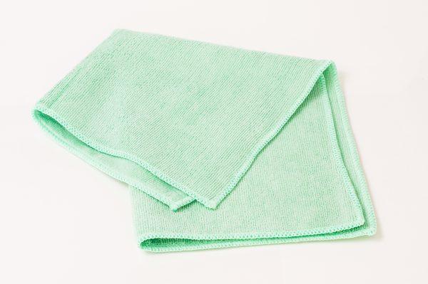 Green Microfiber Towel