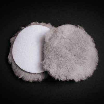 """3.25""""Grip Lambswool Buffing Pad"""